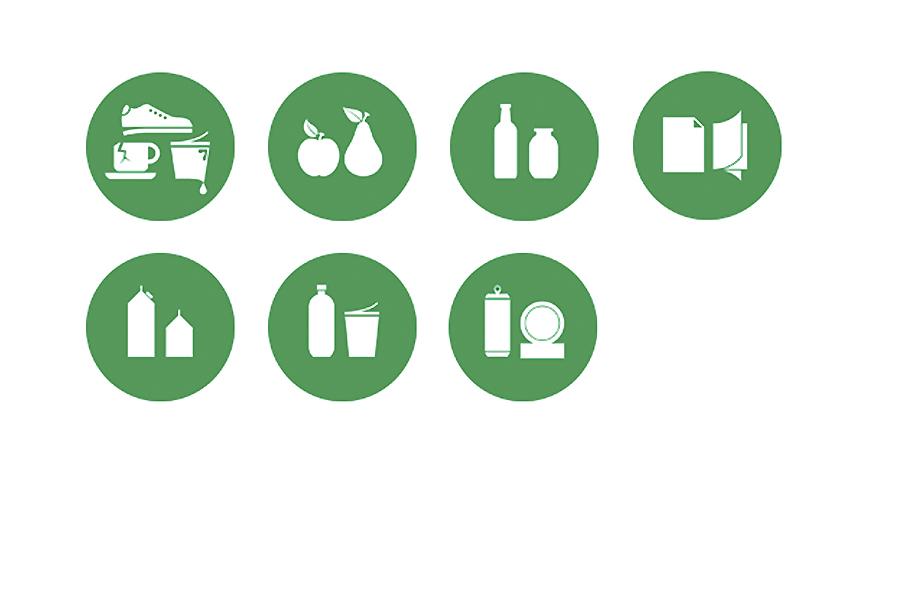 """Ragn-Sellsi jäätmepiktogrammid. 2014. a ära märgitud töö kategoorias """"Parim selge sõnumiga tarbepilt"""""""